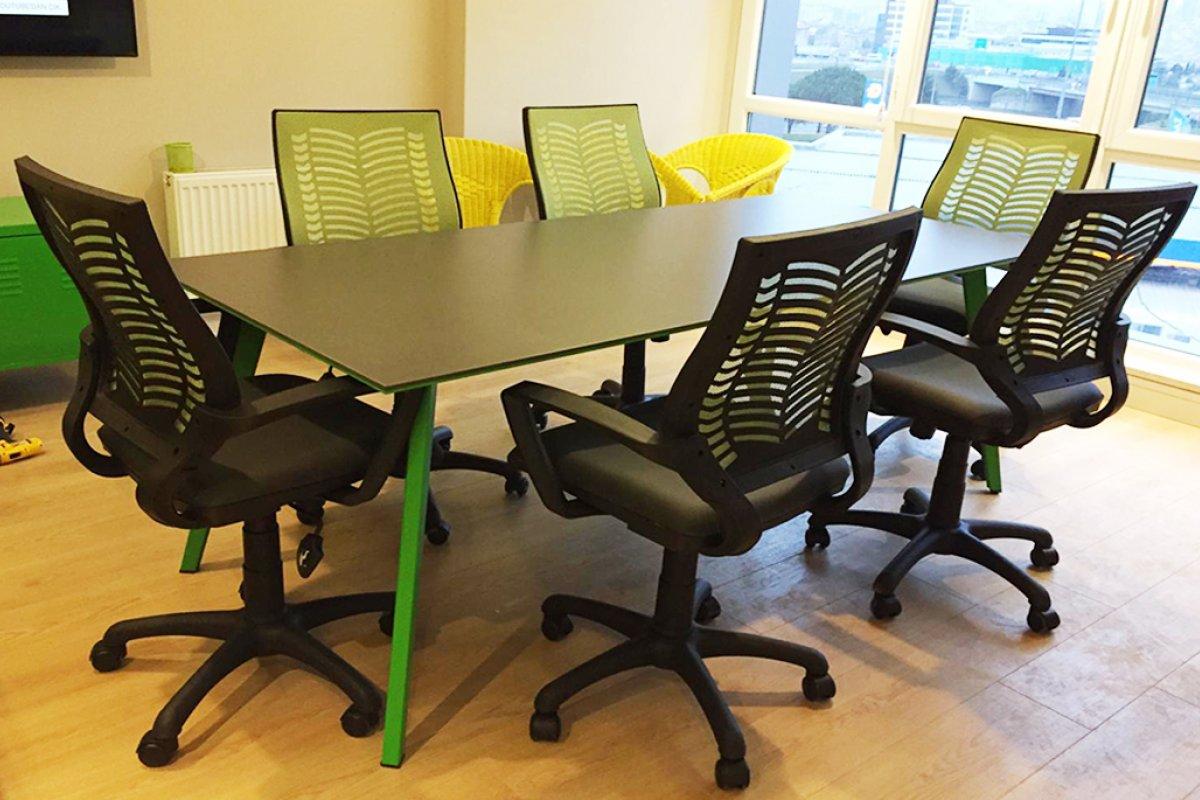 medikal projesi toplantı masası