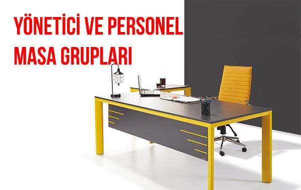 personel masaları